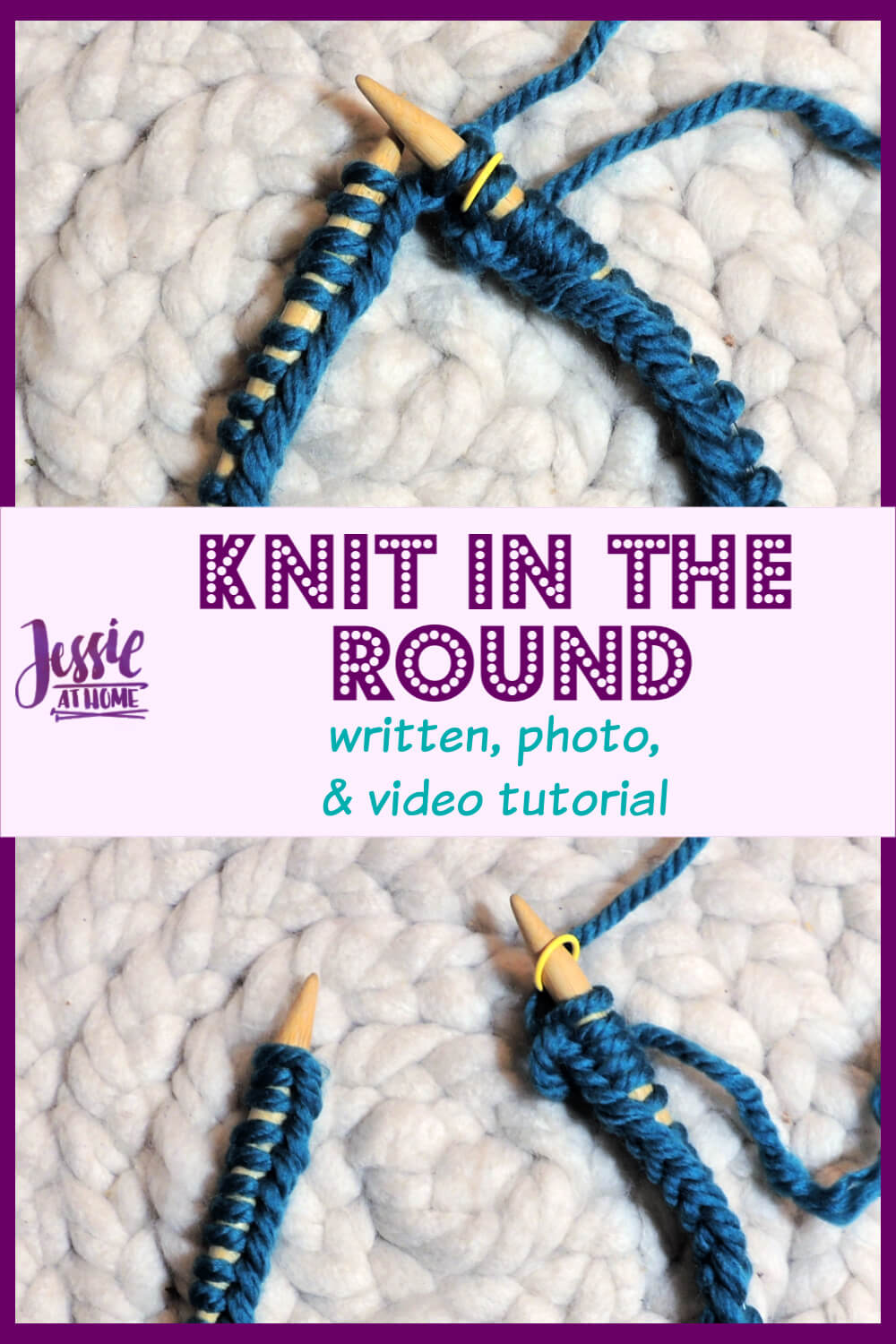 Join to Knit in the Round - it\'s really, really easy