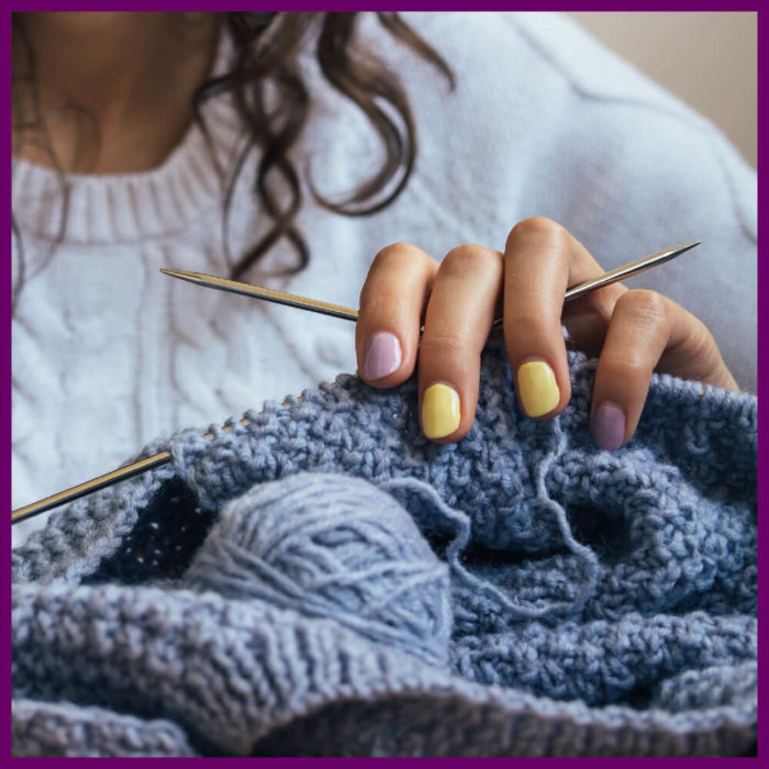 2 - How to Knit - written, photo & video tutorials by Jessie At Home - Pin 1
