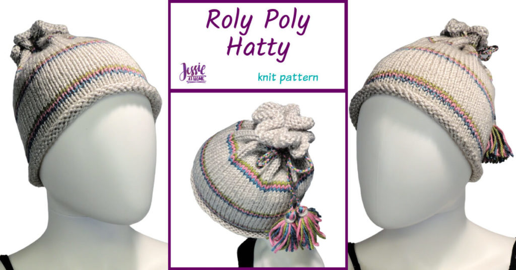 Roly Poly Hattie knit pattern by Jessie At Home - Social