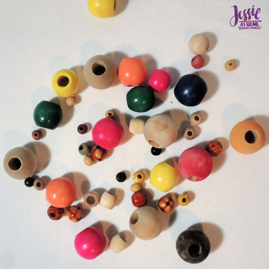 Snow Folx - Upcycled Snowmen for Christmas in July by Jessie At Home - Wood Beads