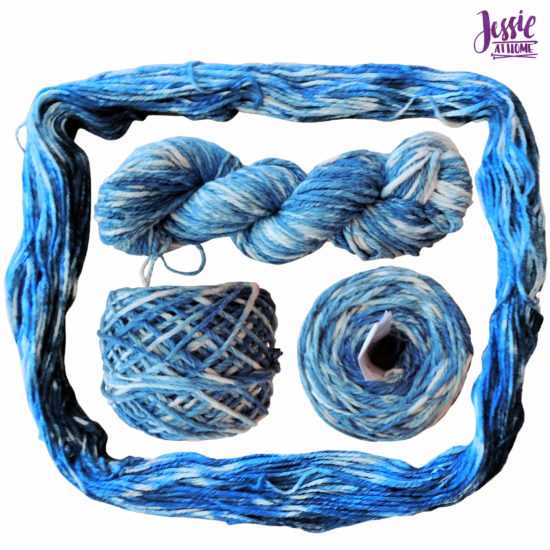 Yarn Dyeing with Indigo -Learn with Jessie At Home - Billow Done