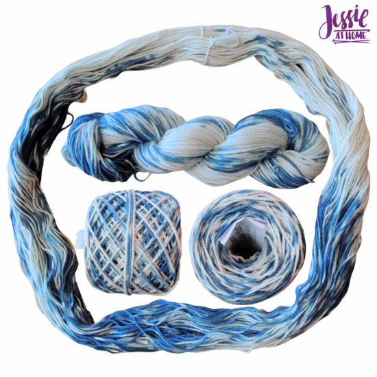 Yarn Dyeing with Indigo -Learn with Jessie At Home - Comfy Color Mist One