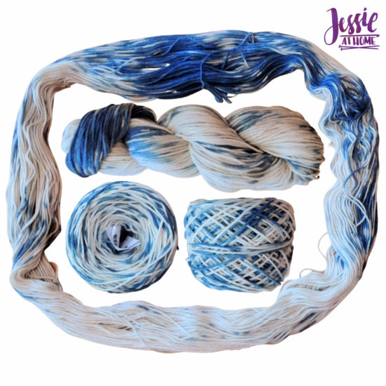 Yarn Dyeing with Indigo -Learn with Jessie At Home - Comfy Color Mist Two