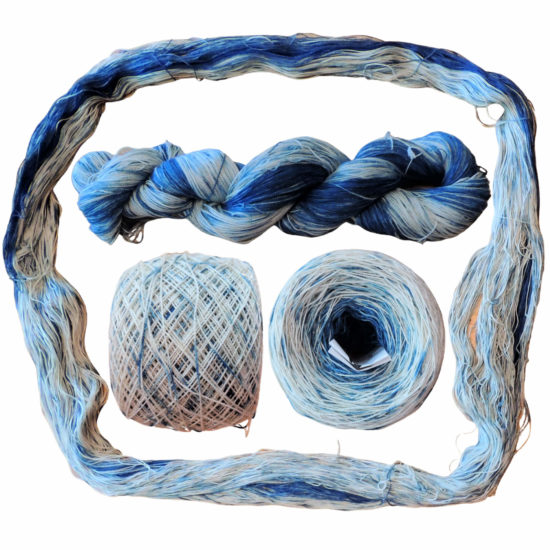 Yarn Dyeing with Indigo -Learn with Jessie At Home - Curio Ball Done