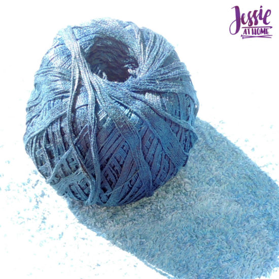Yarn Dyeing with Indigo -Learn with Jessie At Home - Curio Ball Drying
