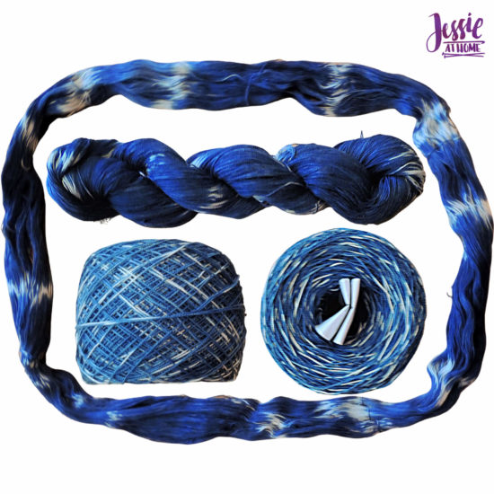 Yarn Dyeing with Indigo -Learn with Jessie At Home - Curio Plus Done
