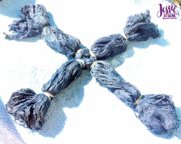 Yarn Dyeing with Indigo -Learn with Jessie At Home - Curio Plus Tied
