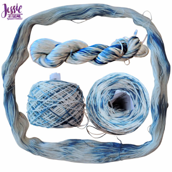 Yarn Dyeing with Indigo -Learn with Jessie At Home - Lindy Chain Done