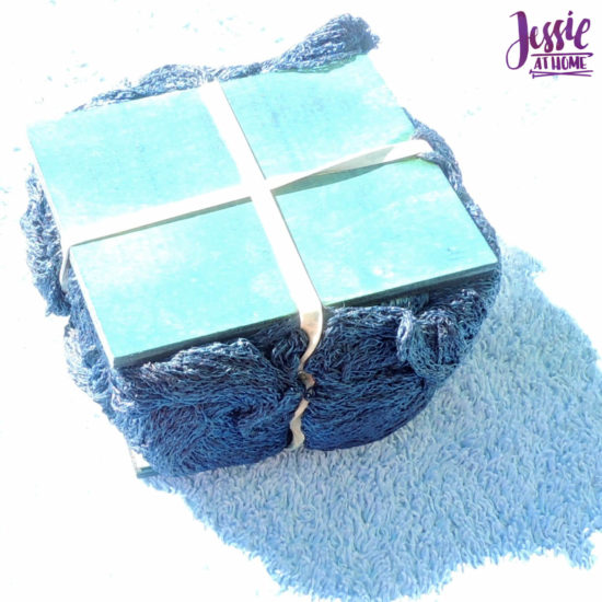 Yarn Dyeing with Indigo -Learn with Jessie At Home - Lindy Chain Tied Up
