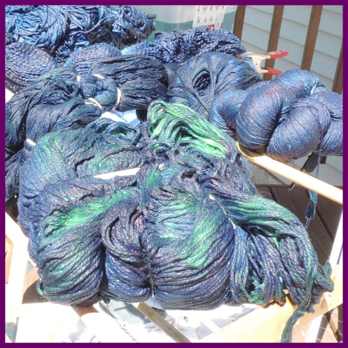 Yarn Dyeing with Indigo -Learn with Jessie At Home - Pin 1