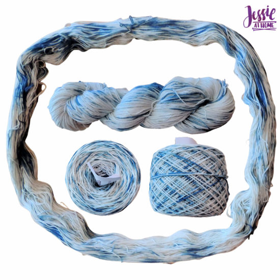 Yarn Dyeing with Indigo -Learn with Jessie At Home - Simply Cotton Fingering Done