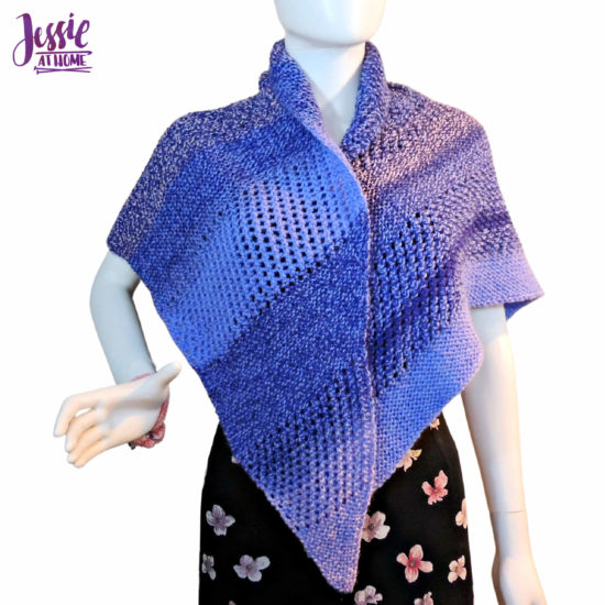Candy Shawl knit pattern by Jessie At Home - 3