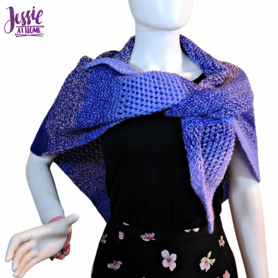 Candy Shawl knit pattern by Jessie At Home - 4