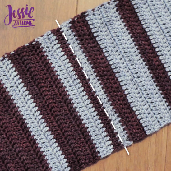 Cozy Spirit CAL crochet pattern by Jessie At Home - Center Join