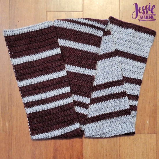 Cozy Spirit CAL crochet pattern by Jessie At Home - Part 2 Complete