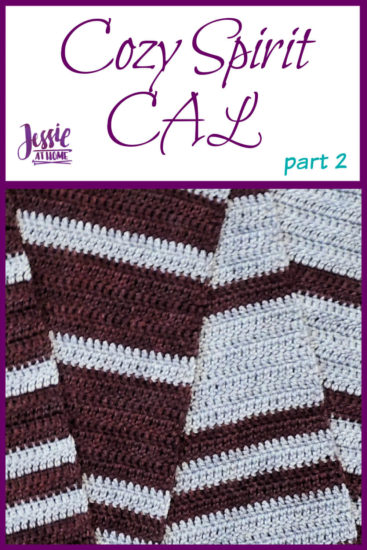 Cozy Spirit CAL crochet pattern by Jessie At Home - Part 2 Pin 1