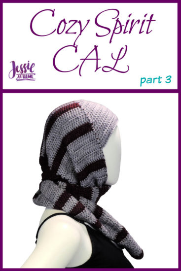 Cozy Spirit CAL crochet pattern by Jessie At Home - Part 3 Pin 1