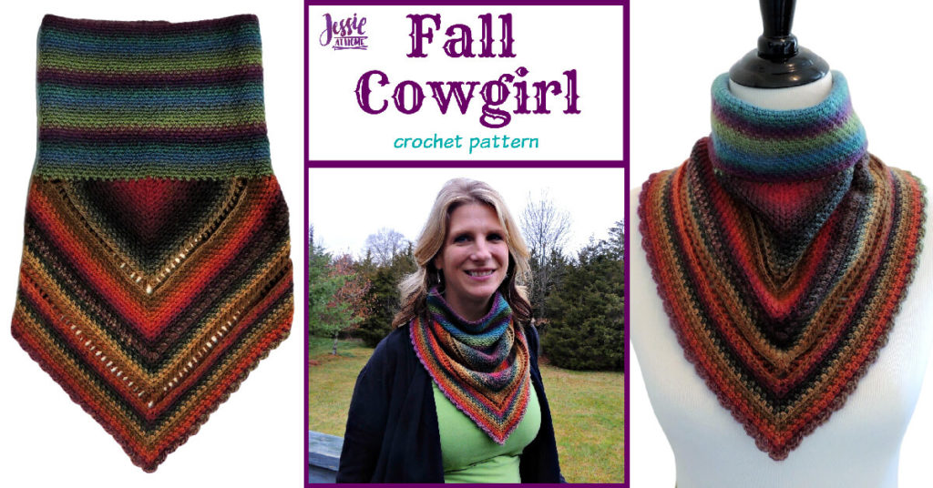 Fall Cowgirl crochet pattern by Jessie At Home - Social