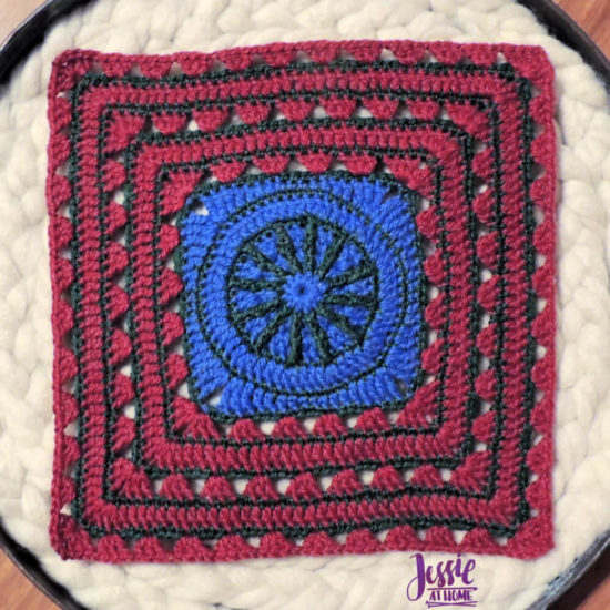 Ginny's Grannies CAL Part 7 by Jessie At Home - Motif 25