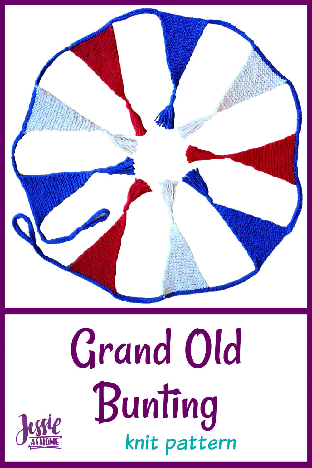 Grand Old Bunting - great for outdoor spaces