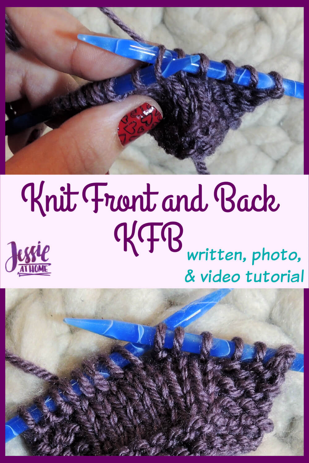 How to KFB - Knit Front and Back