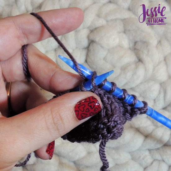 How to KFB Knit Front and Back by Jessie At Home - Yarn over again
