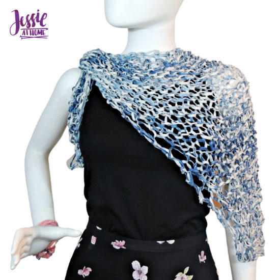 Just Meshing Around - knit pattern by Jessie At Home - 3