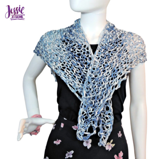 Just Meshing Around - knit pattern by Jessie At Home - 4