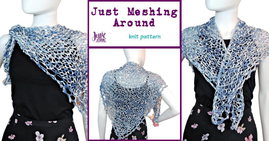 Just Meshing Around - knit pattern by Jessie At Home - Social
