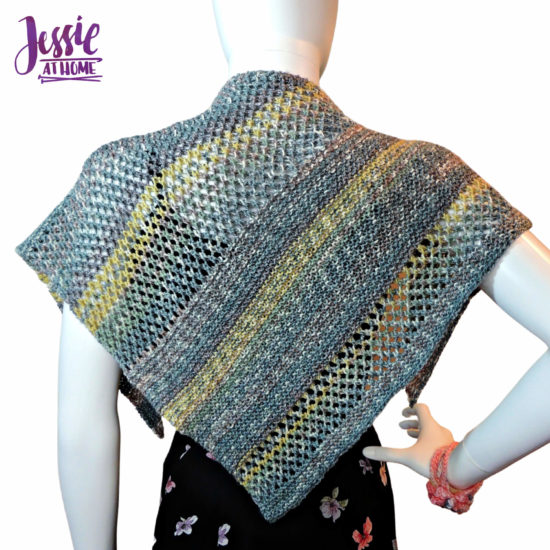 Prince Wrap - knit pattern by Jessie At Home - 2