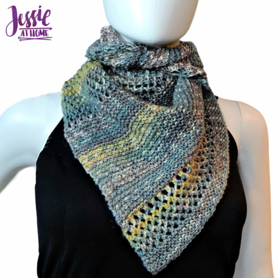 Prince Wrap - knit pattern by Jessie At Home - 3