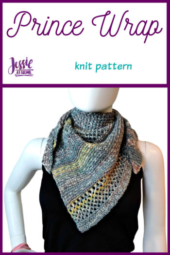 Prince Wrap - knit pattern by Jessie At Home - Pin 1