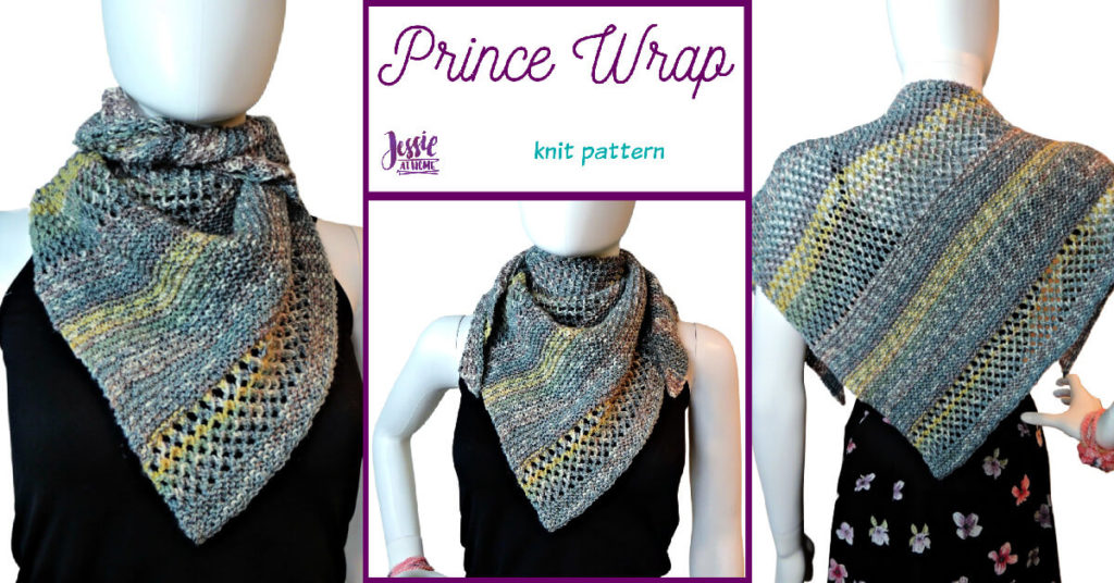 Prince Wrap - knit pattern by Jessie At Home - Social