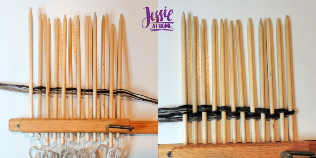 Stick Weaving Tutorial by Jessie at Home - Begin Weaving
