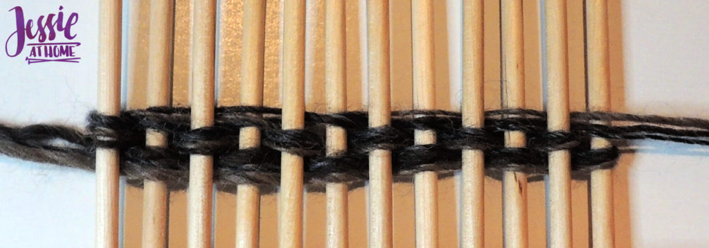 Stick Weaving Tutorial by Jessie at Home - Continue Weaving