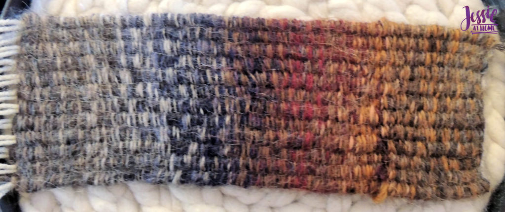 Stick Weaving Tutorial by Jessie at Home - Flatten out