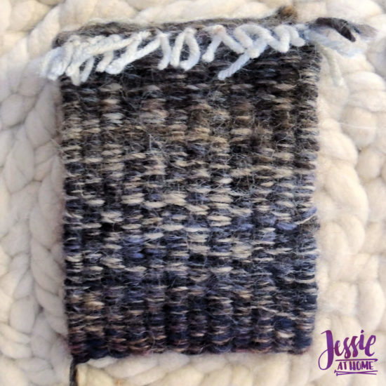 Stick Weaving Tutorial by Jessie at Home - Fold in half