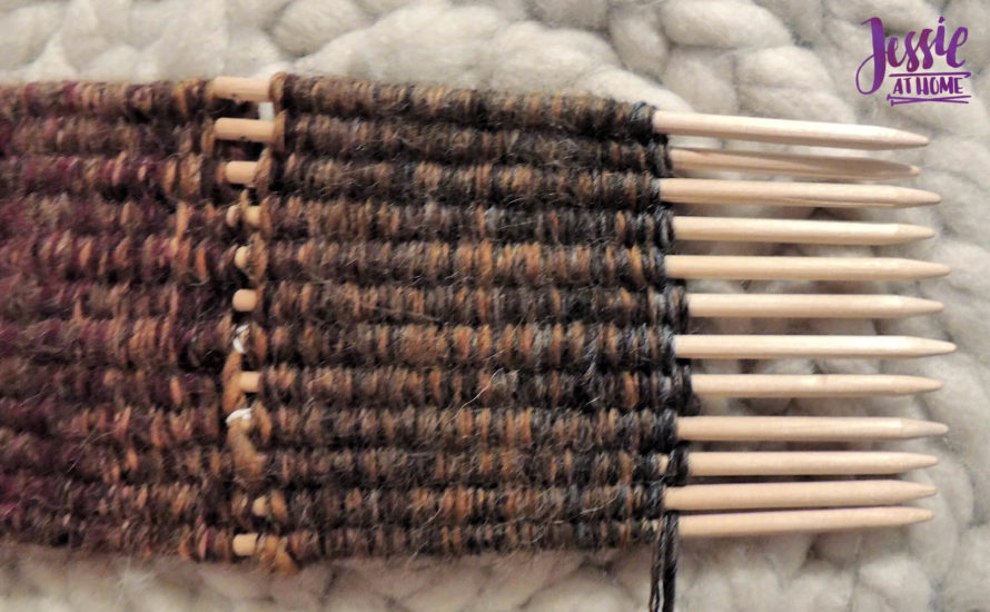 Stick Weaving Tutorial by Jessie at Home - Keep weaving and pulling and weaving