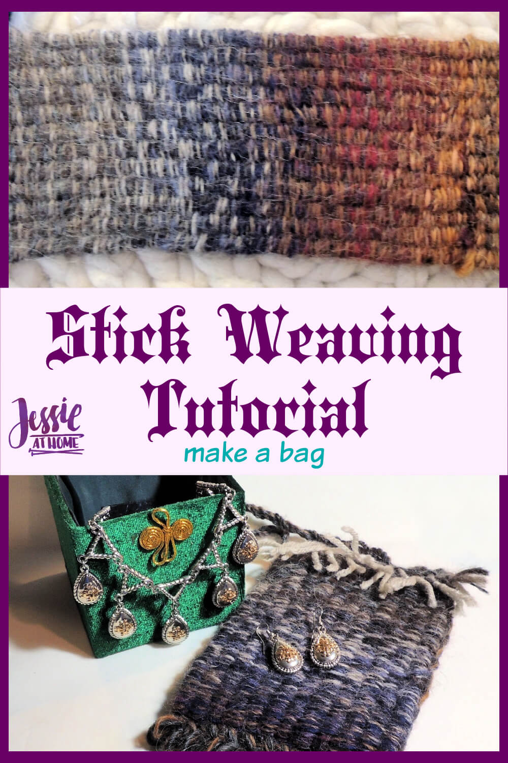 Stick Weaving Tutorial - a fun and useful medieval craft