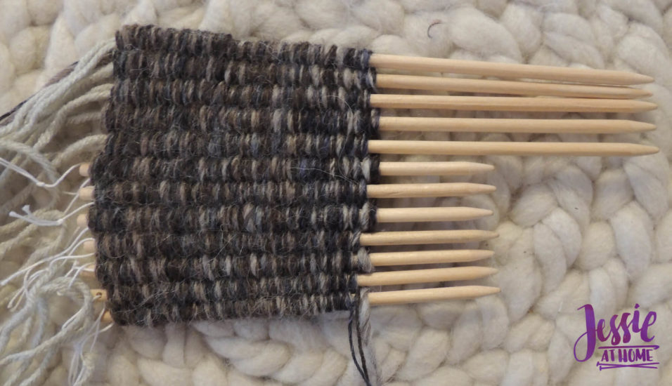 Stick Weaving Tutorial by Jessie at Home - Pull Sticks Uprping Sticks