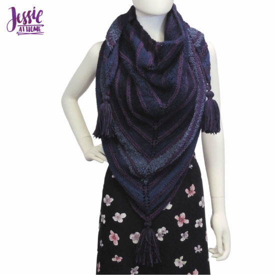 Super Simple Shawl - knit pattern by Jessie At Home - 1