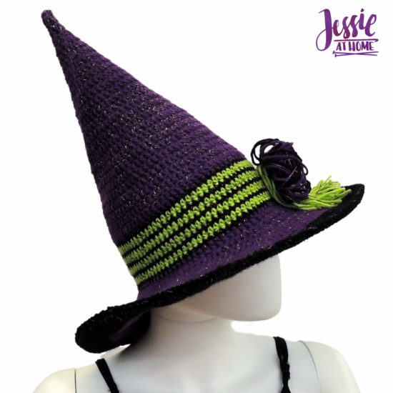 That Witch crochet witch hat pattern by Jessie At Home - 2