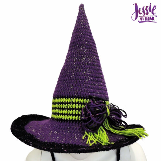 That Witch crochet witch hat pattern by Jessie At Home - 4