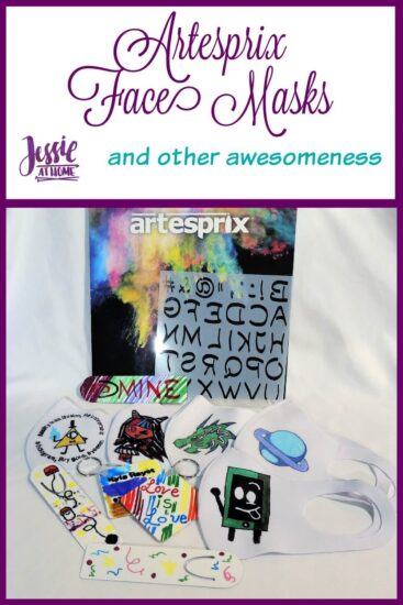 Artesprix Face Masks and Other Awesomeness tutorial by Jessie At Home - Pin 1