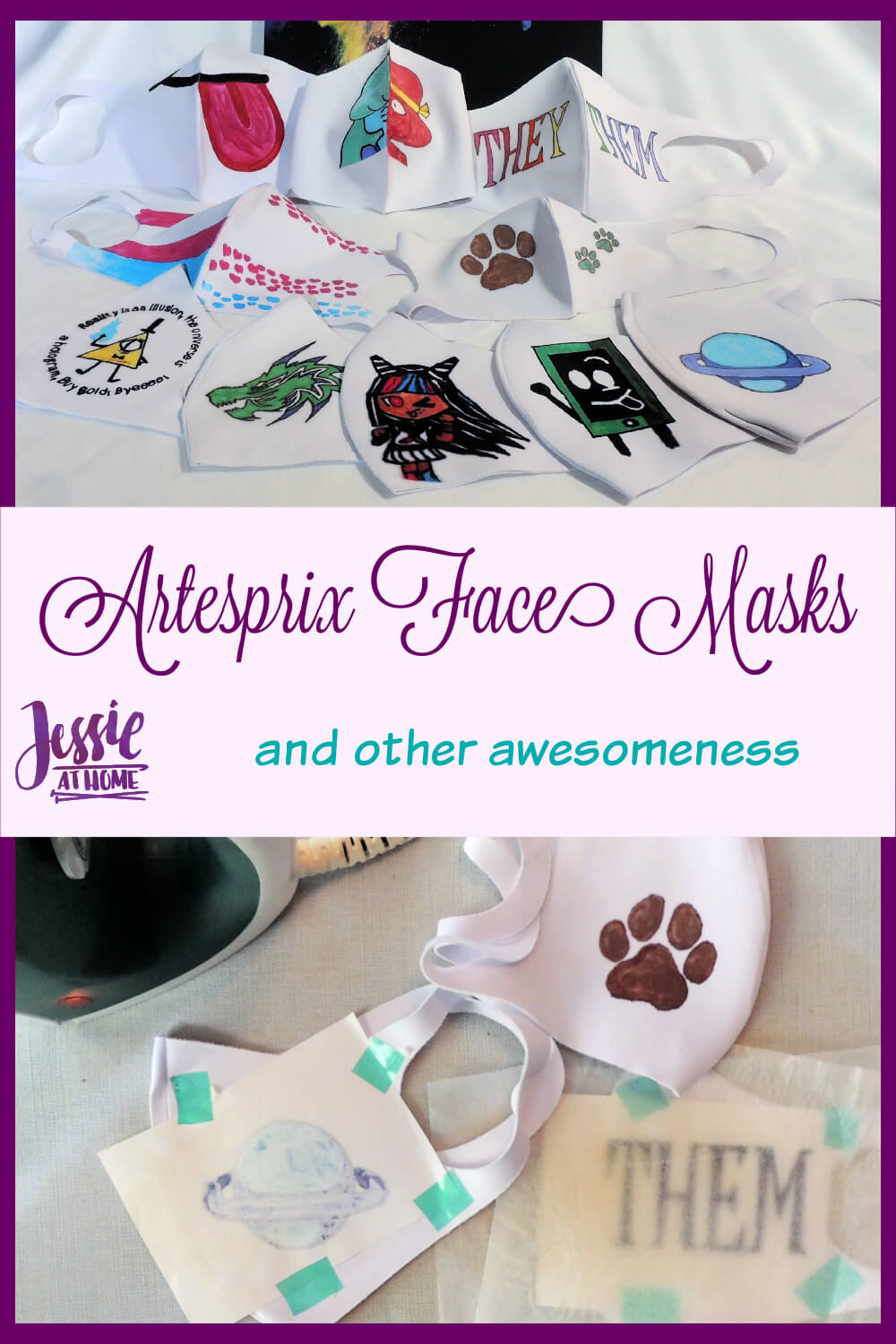 Artesprix Face Masks and Other Awesomeness!