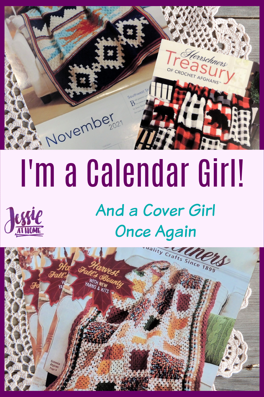 I\'m a Calendar Girl! And a Crochet Cover Girl Once Again