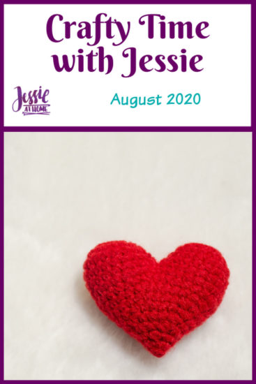 Crafty Time with Jessie At Home August 2020 - Pin 1