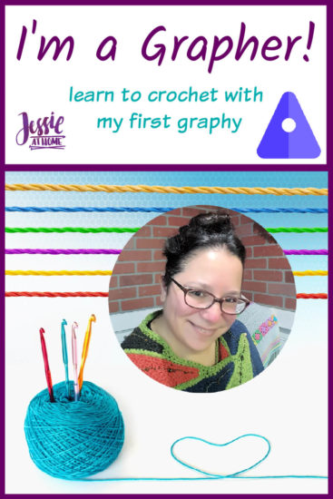 I'm a Grapher! My First Graphy_ Learn to Crochet by Jessie At Home - Pin 1