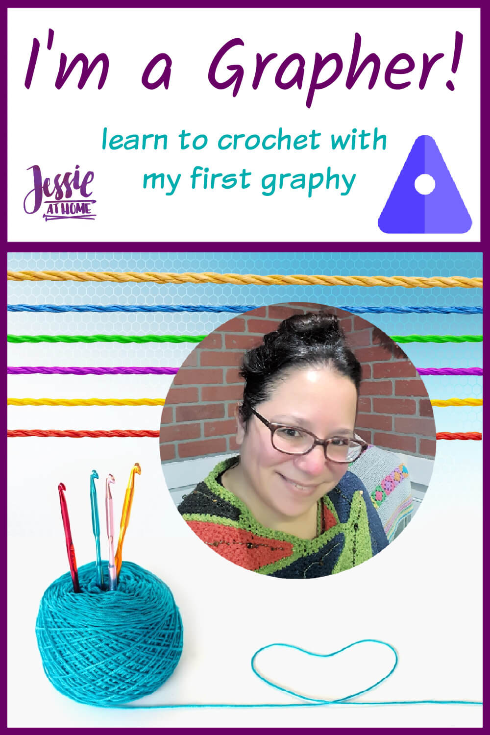 I\'m a Grapher! My First Graphy: Learn to Crochet
