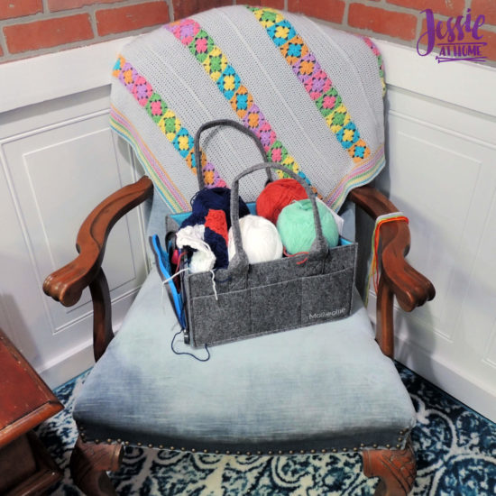 Mimmo Caddy from Mollie Ollie review by Jessie At Home - One WiP
